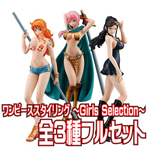 ONE PIECE STYLING ~Girls Selection~ 3個セット(食玩)
