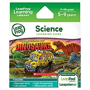 LeapFrog Learning Game: Magic School Bus Dinosaurs (for LeapPad Tablets and LeapsterGS)