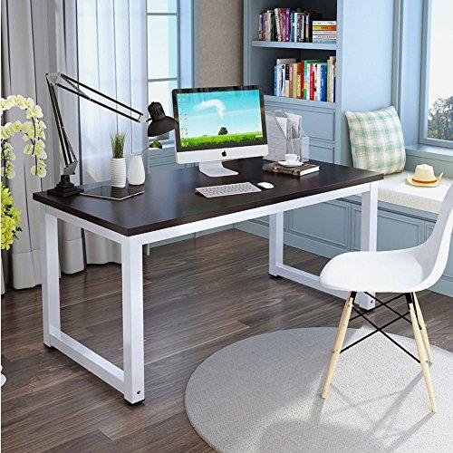tribesigns modern stylish computer desk pc laptop study table