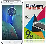 #1: BlueArmor Moto G5s Plus Tempered Glass - Clear