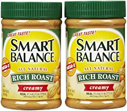 Smart Balance Creamy Peanut Butter 16 oz Jars 2 Pack