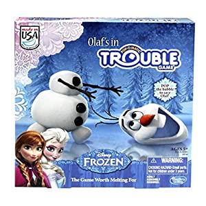 Amazon.com: Frozen Olaf's in Trouble Game: Toys & Games