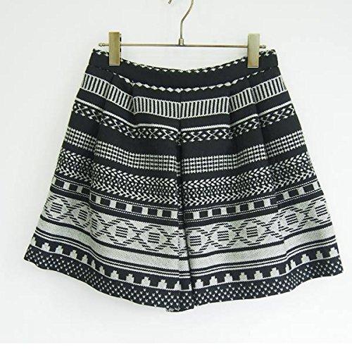 (フレイ アイディー)FRAY I.D ジャガードショートパンツ fwfp154057 BLACK : 服&ファッション小物通販 | Amazon.co.jp