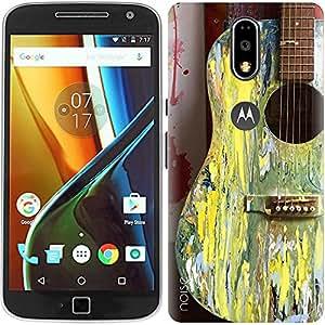 Noise Designer Phone Case / Cover for Moto G4 Plus, 4th Gen / Moto G4 Plus (4th Generation) / Music / Guitar Design