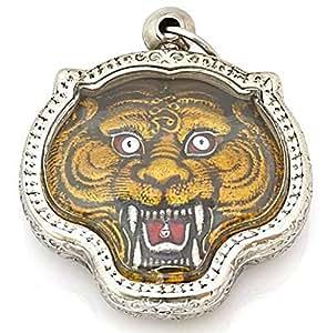 Amazon.com : Muay Thai Amulets Magic Tiger Lp Pern Life Protection