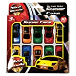 HOT RODS Toy Cars - 10 Pack - Ideal g...