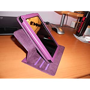360 degree Rotary Leather Case for Amazon Kindle Fire
