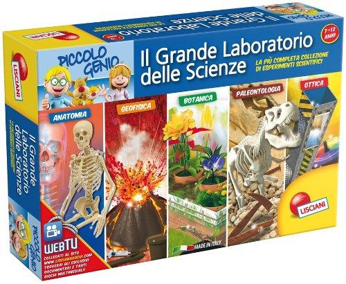 Liscianigiochi 43088 - Piccolo Genio. Il Grande Laboratorio delle Scienze