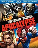 61qZMWE3dKL. SL160  Superman/Batman: Apocalypse (Deluxe Blu ray Edition with Bonus Episodes) [Blu ray + DVD + Digital Copy]