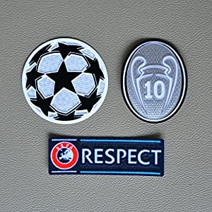 Badge Patch Iron on Soccer Jersey for Real Madrid : Sports & Outdoors