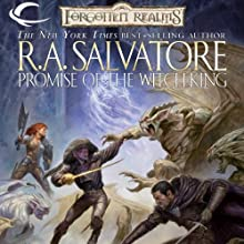 Promise of the Witch-King: Forgotten Realms: The Sellswords, Book 2 (       UNABRIDGED) by R. A. Salvatore Narrated by Victor Bevine