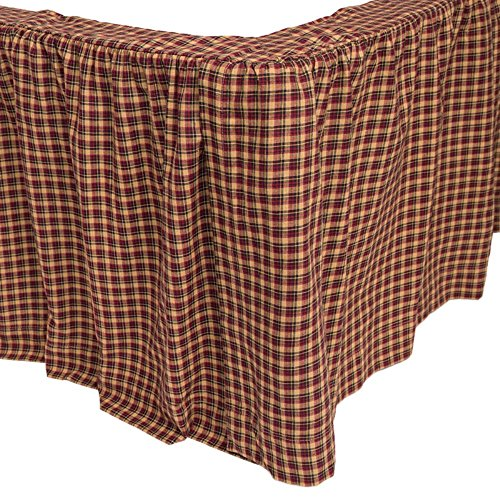 Patriotic Patch Bed Skirt by VHC Brands