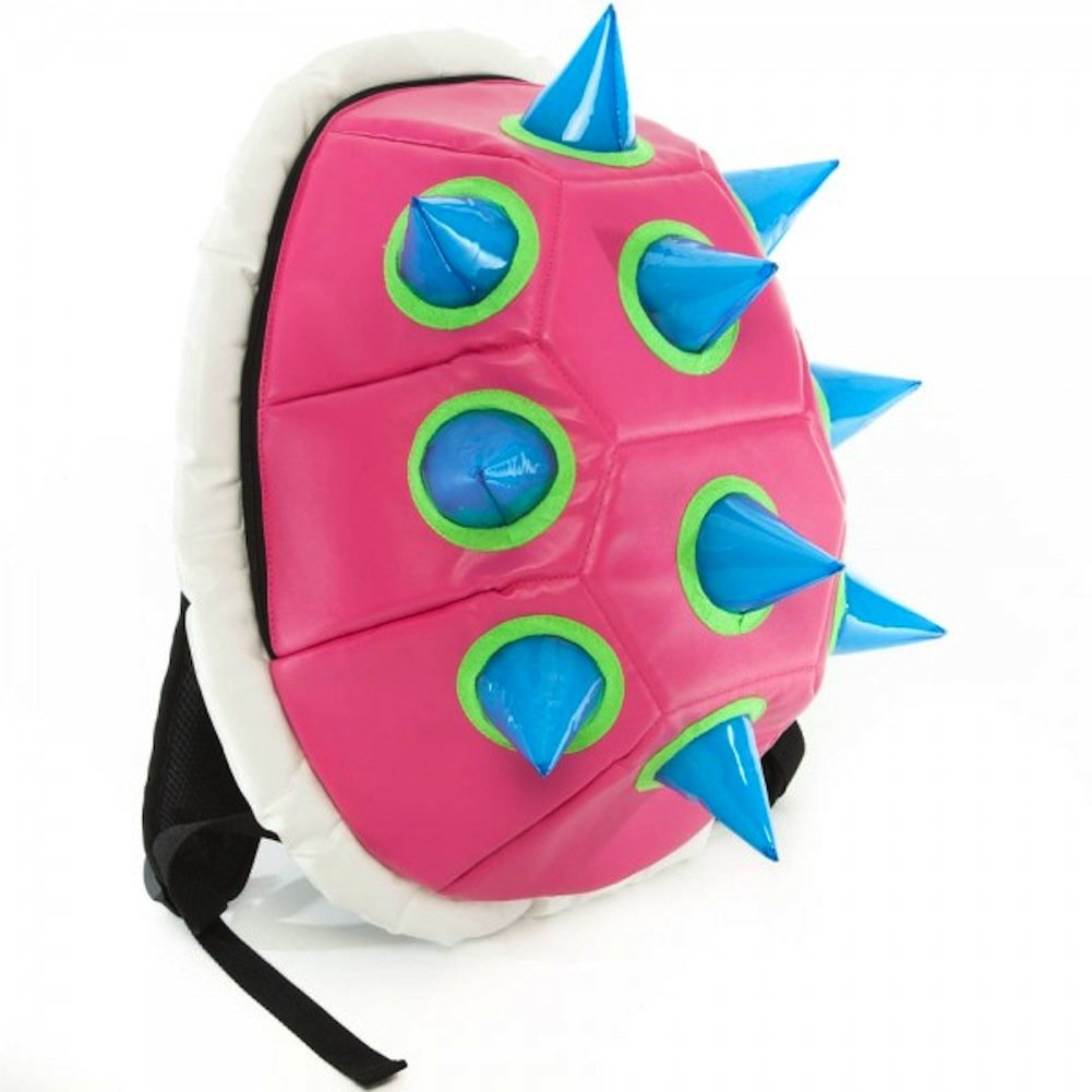Pink Spiked Shell Backpack Bookbag