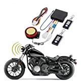 DC12V Motorcycle Anti-Theft Alarm Security System Remote Control Engine Start Bike Anti-Hijacking Cutting Off Remote Engine Start Arming Disarming