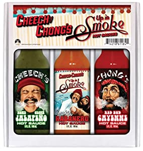 Cheech And Chongs Up In Smoke Mini Grilling Gift Set from Hot Sauce Harry's