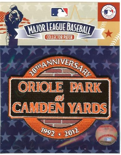 MLB Baltimore Orioles Camden Yards 20th Anniversary Collectible Patch at Amazon.com