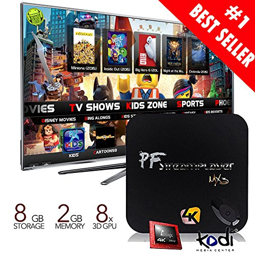 Big Save! Pigflytech® [2015 New Arrival] MX3 (MXIII) Quad Core Android TV BOX & Game Palyer!!! ...