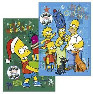 """Riegelein Adventskalender """"Die Simpsons"""" (Motiv kann variieren), 1er Pack (1 x 120 g)"""
