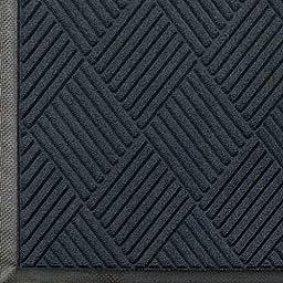 Andersen 208 Waterhog Classic Diamond Polypropylene Fiber Entrance Indoor/Outdoor Floor Mat, SBR Rubber Backing, 6\' Length x 3\' Width, 3/8\