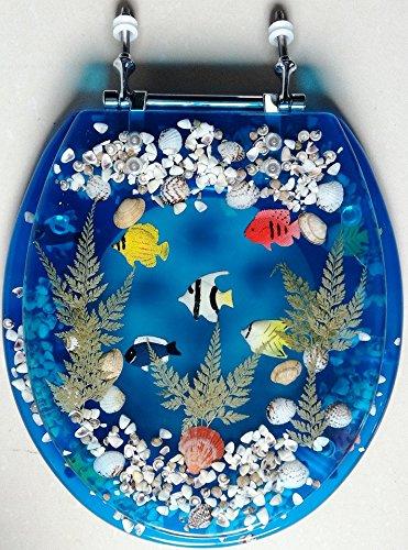Decorative Acrylic Toilet Seats