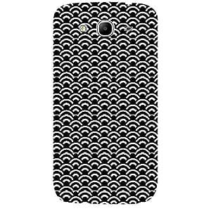 Skin4gadgets BLACK & WHITE PATTERN 32 Phone Skin for SAMSUNG GALAXY MEGA 5.8 (I9150)