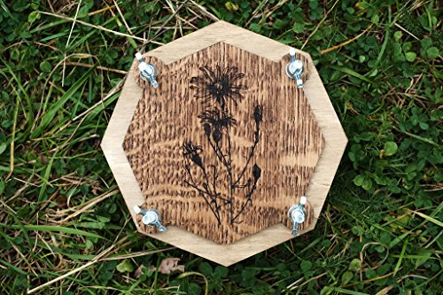 Botanical wooden flower leaf press for Herbarium (handcrafted, personalization available) (Herbarium Press compare prices)