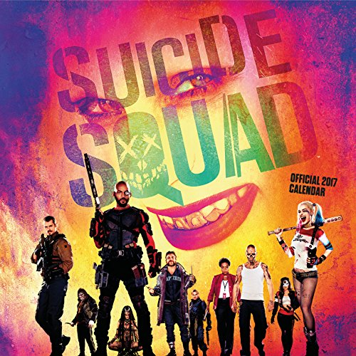 Suicide Squad Official 2017 Square Wall Calendar