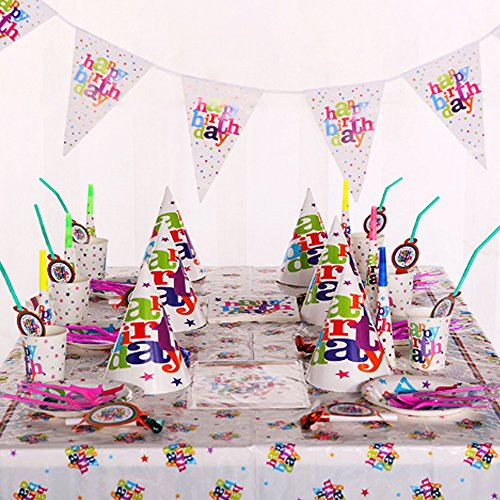 Fun-Party-Kit-Complete-Colorful-Pack-for-6-Kids-Birthday-Prop-Tableware-Supplies-Favor-Bundle-Sturdy-Safe-and-Non-Toxic-1221