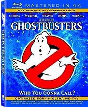 Ghostbusters  (Mastered in 4K) (Single-Disc Blu-ray + Ultra Violet Digital Copy)
