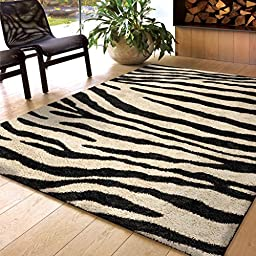 Orian Rugs Striped Sabre Ivory Area Rug (7\'10\