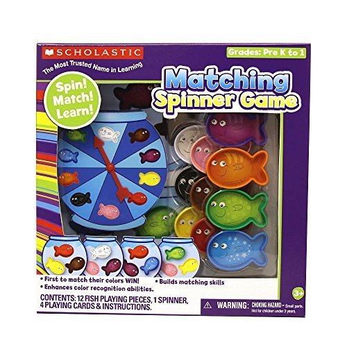 Scholastic Color Matching Spinner Game