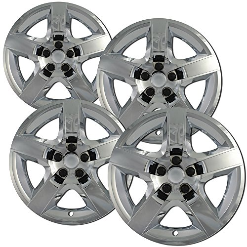 hubcaps-for-chevrolet-malibu-08-12-chrome-auto-hub-covers-oem-genuine-factory-aftermarket-replacemen