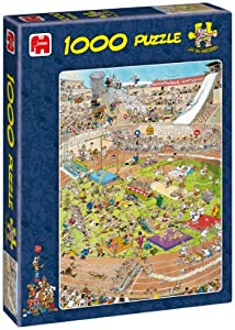Jan Van Haasteren - The Olympics 1000 Piece Jigsaw Puzzle
