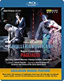 マスカーニ:歌劇「カヴァレリア・ルスティカーナ」/レオンカヴァッロ:歌劇「道化師」[Blu-ray Disc, 日本語字幕]