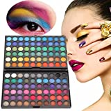 Chinatera Professional 120 Colors Concealer Makeup Eyeshadow Palette Neutral Matte Shimmer Cosmetic Set,2 Layers (1#)