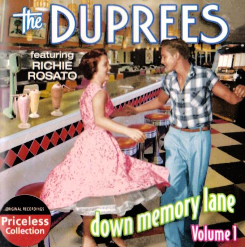 CD : The Duprees - Dowm Memory Lane, Vol. 1 (CD)