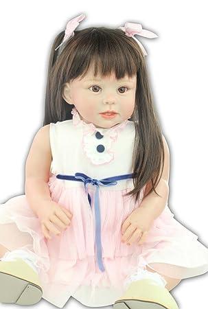 """Terabithia 28"""" Lifelike Change Clothes Reborn Toddler Fille Poupées"""