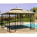 Replacement Canopy for the Costco Arrow 12' x 12' Gazebo with RipLock Technology