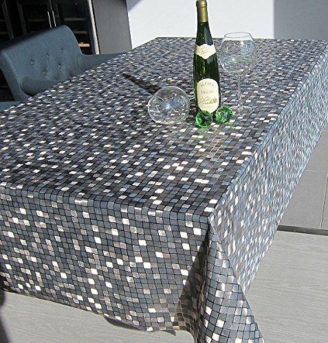 1 4 m de luxe nappe bilbao cafe couverture de table lavable en toile cir e 140 cm de large x 1. Black Bedroom Furniture Sets. Home Design Ideas