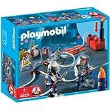 Playmobil - 4825 - Jeu de construction - Pompiers et matériel d'incendie
