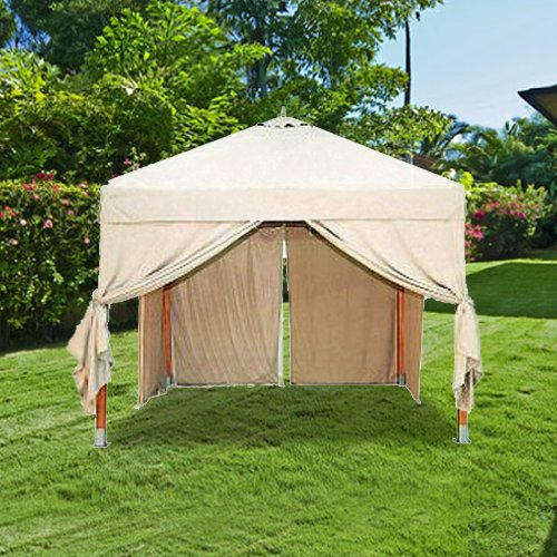 Canopy For Backyard Target :  Replacement Canopy  RipLock 350  Gazebos  Patio and Furniture