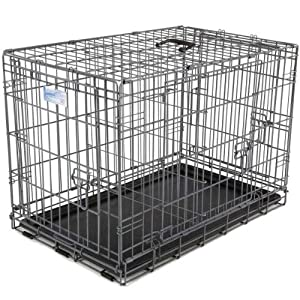 Ultima Pro Fold & Carry Triple-Door Dog Crate Size: X-Large (48