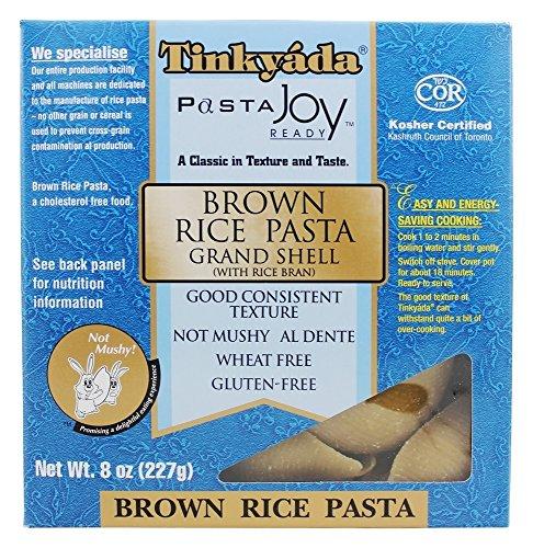 Brown Rice Pasta Grand Shell 8 oz Pkg (Grand Gourmet Pasta compare prices)