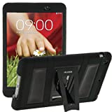 i-Blason Samsung LG G Pad 8.3 Case - Armorbox Dual Layer Hybrid Full-body Protective Cover with Kickstand and Impact Resistant Bumpers Tab (LG G Tablet 8.3, Black/Black)