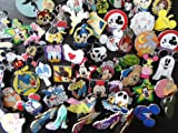 Disney Trading Pin Lot Of 25 HIDDEN MICKEY,RACK,CAST PINS, Afforodable And Tradable
