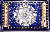 Handicrunch Zodiac Horoscope Tapestry, Indian Astrology Hippie Wall Hanging, ...