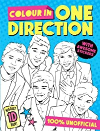 Colour in One Direction! (Colouring Book) [Paperback]