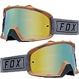2019 Fox Racing Air Space Gasoline Goggle-Grey (Color: Grey, Tamaño: No Size)