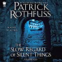 The Slow Regard of Silent Things: Kingkiller Chronicle, Book 2.5 (       UNABRIDGED) by Patrick Rothfuss Narrated by Patrick Rothfuss