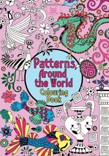 Pretty Patterns Colouring Book : Pretty flowers colouring book libri interattivi